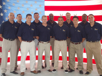 Men's All-Navy Volleyball Team